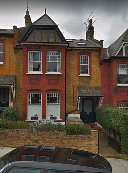 5 Uplands Road, my first house