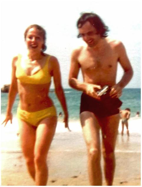 Carol and Brian on honeymoon