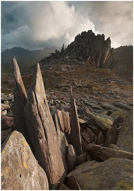 Castell y Gwynt (Castle of the Wind) on the Glyders