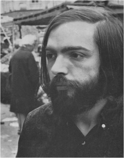 John Sladek in Portobello Road