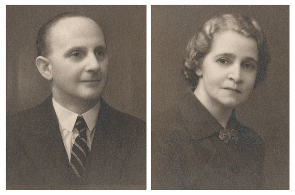 John and Betty Smith, my maternal grandparents
