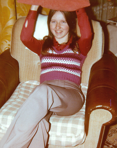 Julie, Xmas 1973