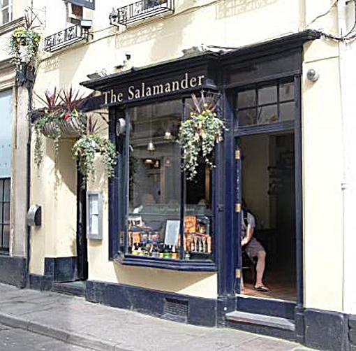 The Salamander, Bath