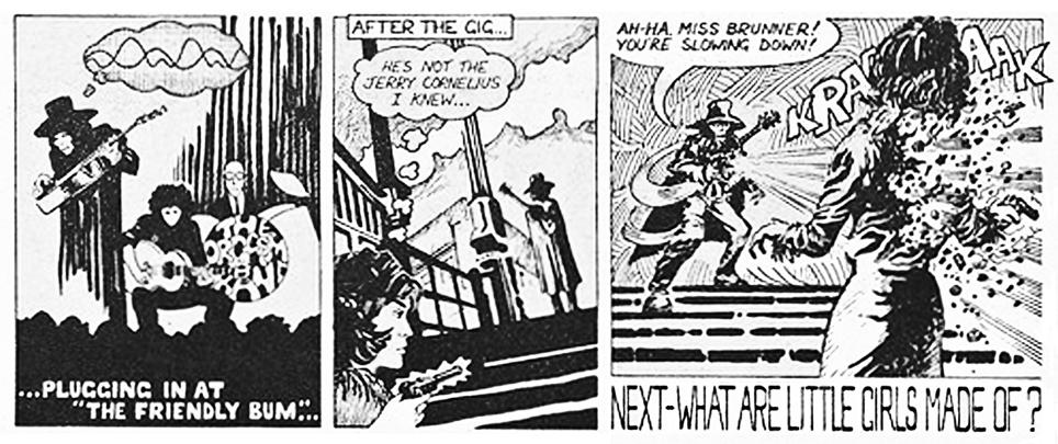 part of cartoon strip from <em>it</em>, September 1964