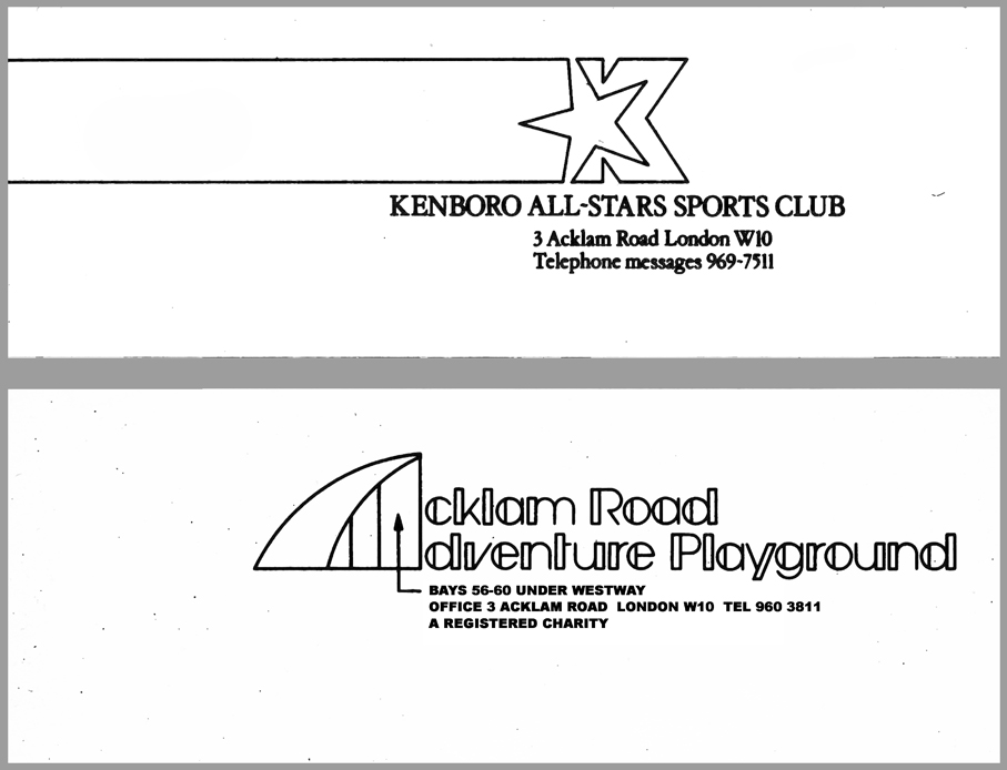 letterheads for the playground